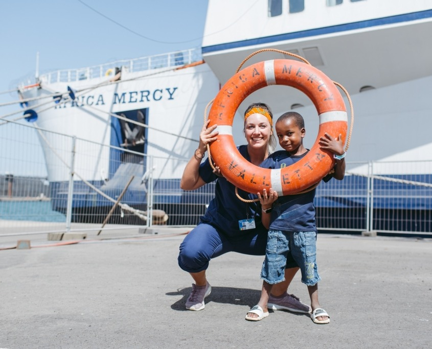 Nalaten aan goed doel Mercy Ships